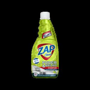 Desengordurante Zap Clean - Refil - Limão - 500ml
