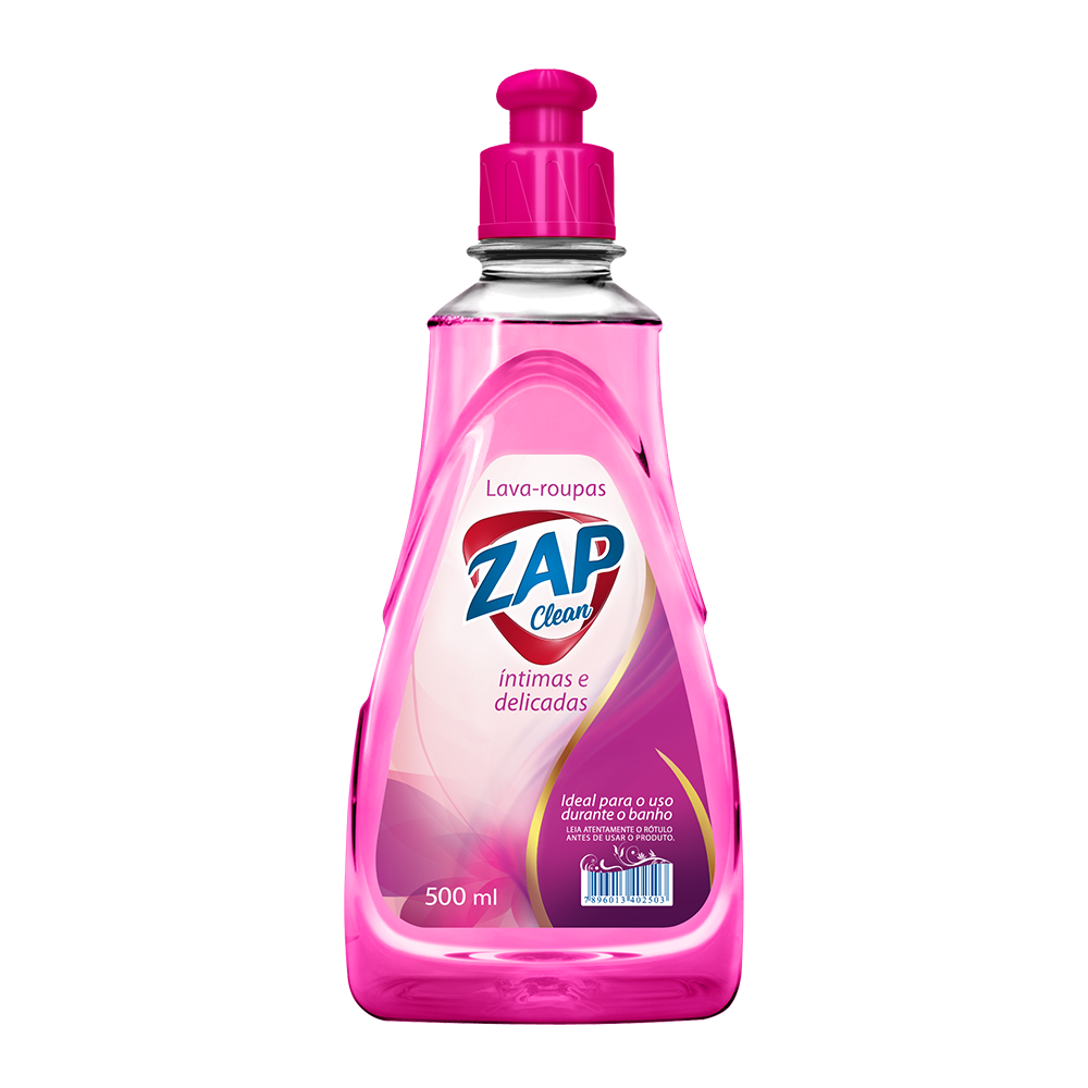 Lava Roupas Íntimas e Delicadas Zap Clean - 500ml