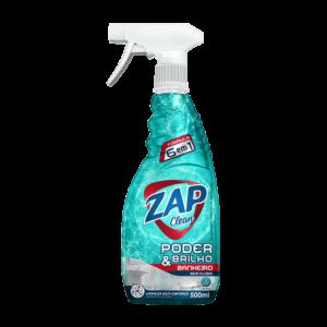 Limpa Banheiro Zap Clean Poder & Brilho – Gatilho – 500ml