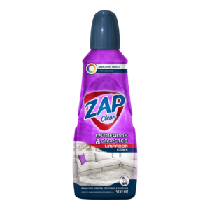 Limpa Estofados e Carpetes Zap Clean - Flores - 500ml
