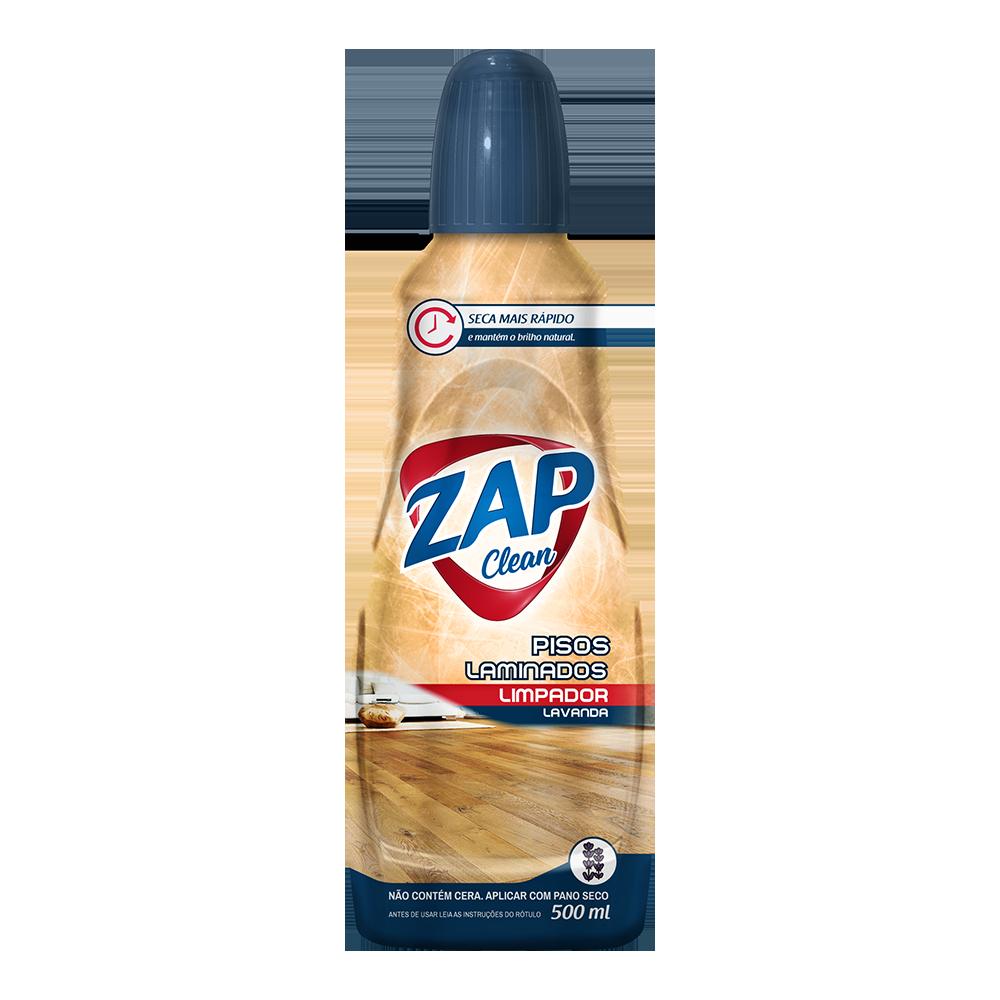 Limpador de Pisos Laminados Zap Clean - Lavanda - 500ml