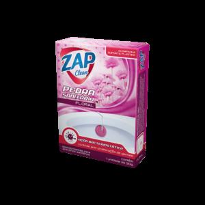 Pedra Sanitária Zap Clean - Aparelho - Floral - 30g