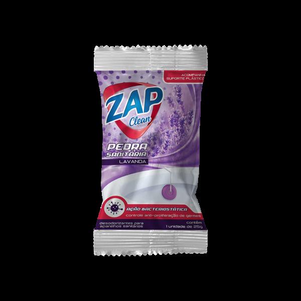 Pedra Sanitária Zap Clean - Sache - Lavanda - 25g