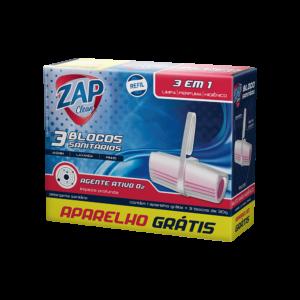Promoção Refil Sanitário Zap Clean - Leve 3 - Grátis Aparelho