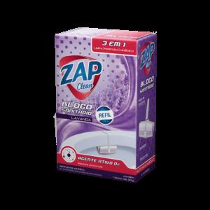 Bloco Sanitário Zap Clean - Refil - Lavanda - 30g
